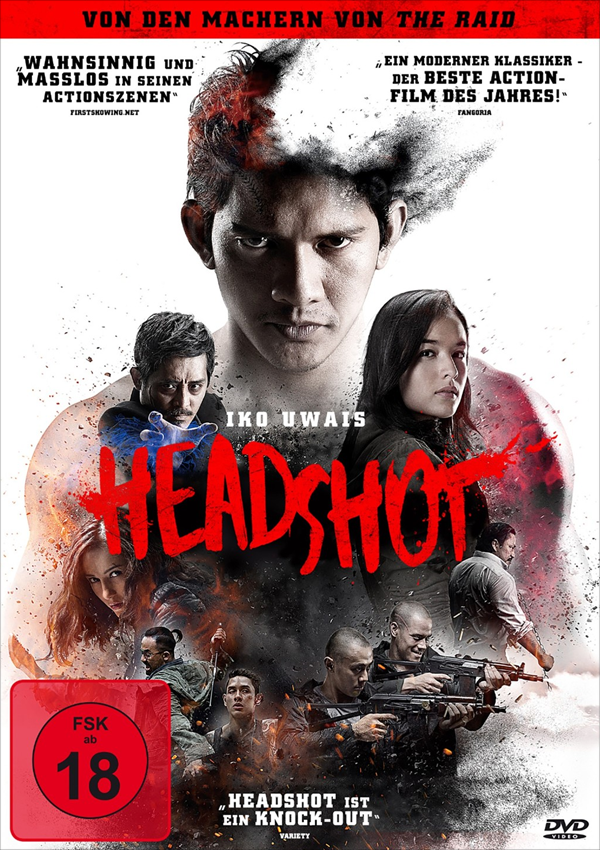 Headshot - Action, Martial Arts, Iko Uwais, Release, Veröffentlichung, Trailer, Infos, DVD, Blu-ray, Cover