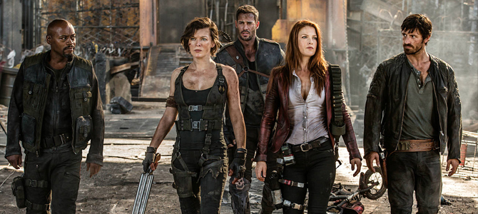 Resident Evil: The Final Chapter – Release