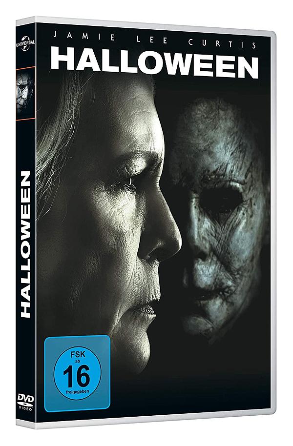 Halloween (2018) - DVD Blu-ray Cover FSK 16