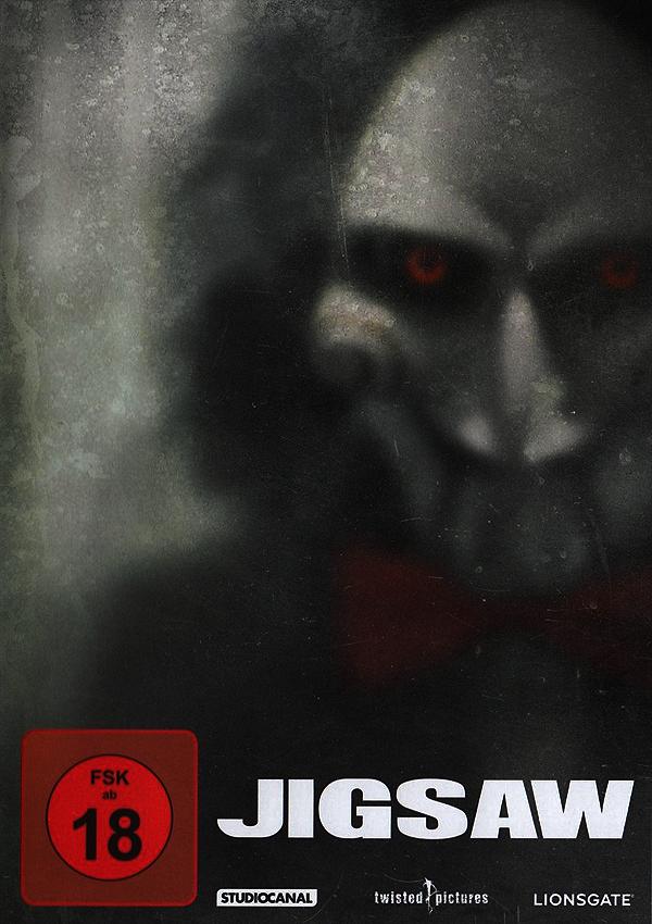 Jigsaw - DVD, Blu-ray, Cover, Infos, Gewinnspiel, Horrorfilm