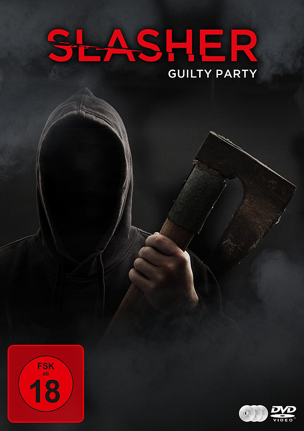 Slasher: Guilty Party - DVD Blu-ray Cover FSK 18