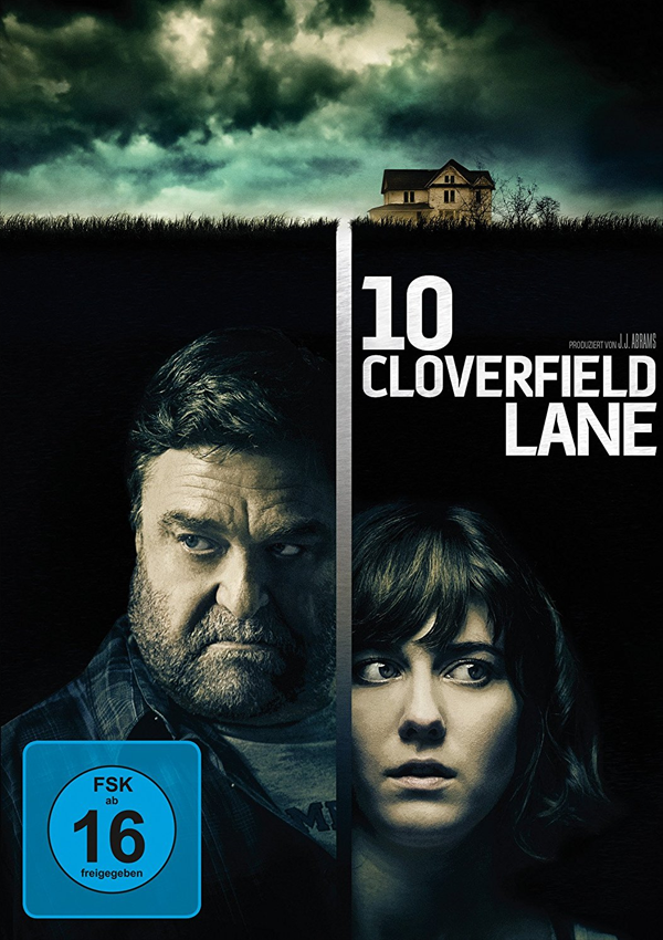 10 Cloverfield Lane - DVD Blu-ray Cover FSK 16