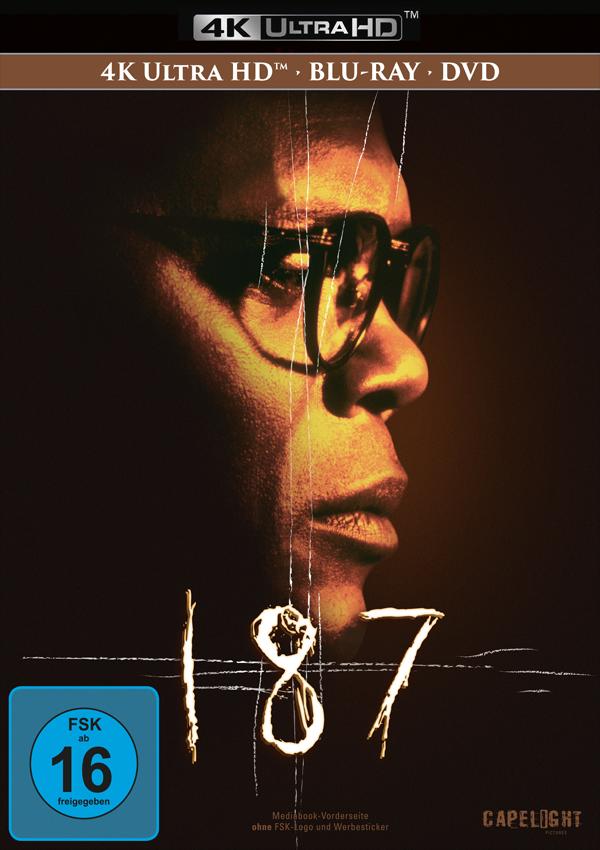 187 - Mediabook DVD Blu-ray Cover FSK 16