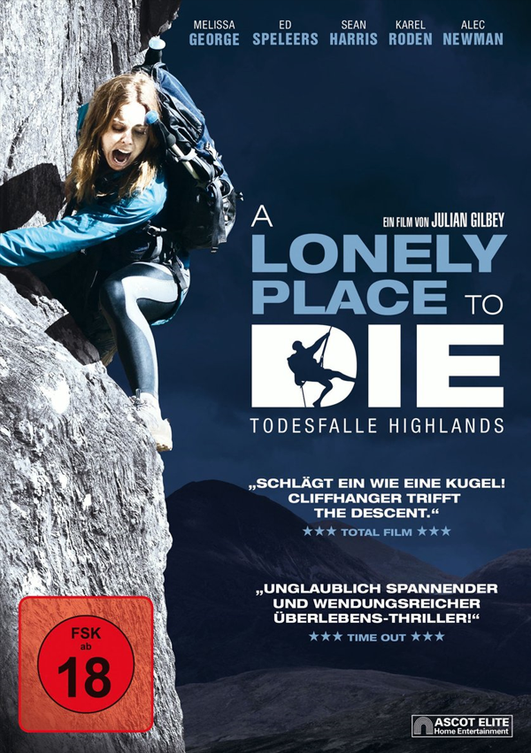 A Lonely Place to Die - Blu-ray DVD Cover FSK 18