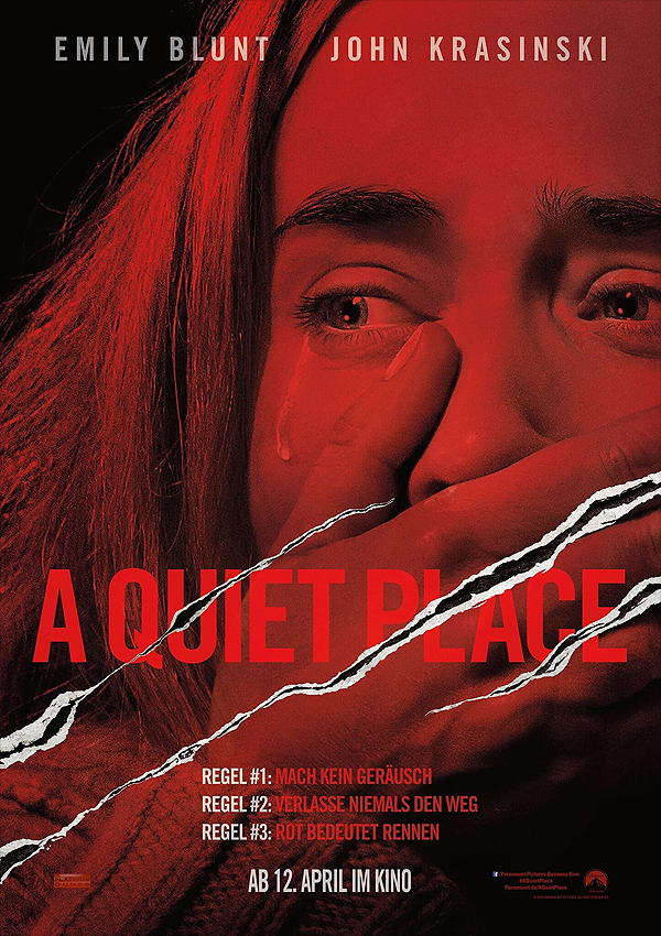 A Quiet Place - Blu-ray DVD Cover FSK 16