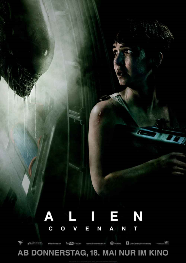 Alien: Covenant - Poster FSK 16