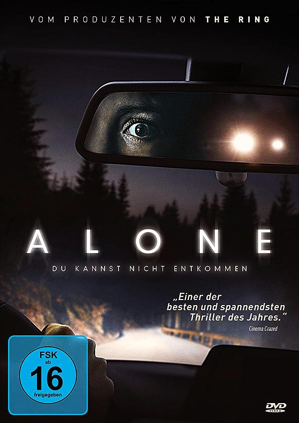 Alone - DVD Blu-ray Cover FSK 16