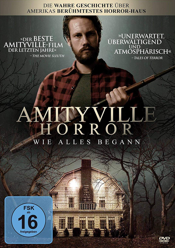 Amityville Horror: Wie alles begann - DVD Blu-ray Cover FSK 16