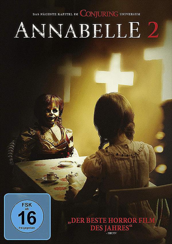Annabelle 2 - Blu-ray DVD Cover FSK 16