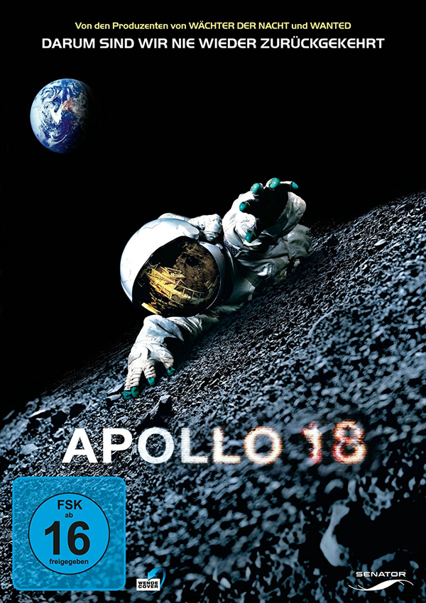Apollo 18 - Blu-ray DVD Cover FSK 16