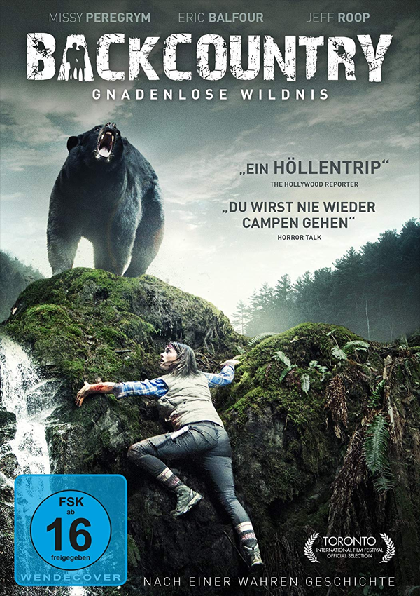 Backcountry - Blu-ray DVD Cover FSK 16