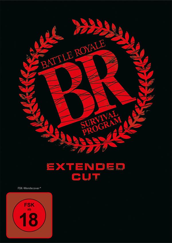Battle Royale - Mediabook DVD Blu-ray Cover FSK 18