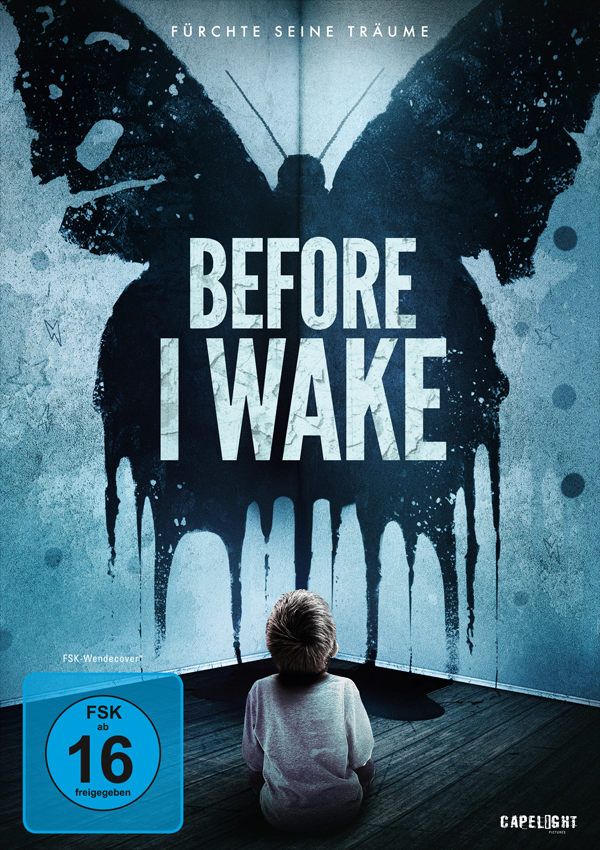 Before I Wake - DVD Blu-ray Cover FSK 16