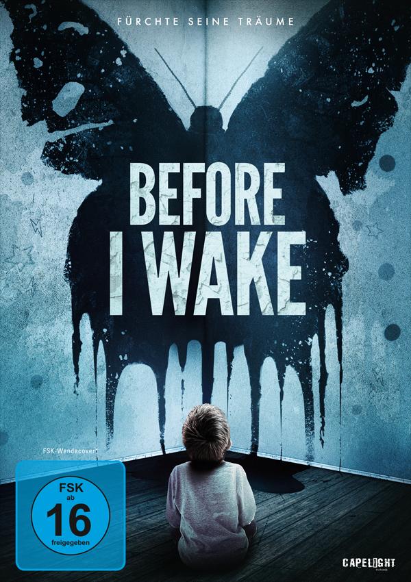 Before I Wake - DVD Blu-ray Cover FSK 16