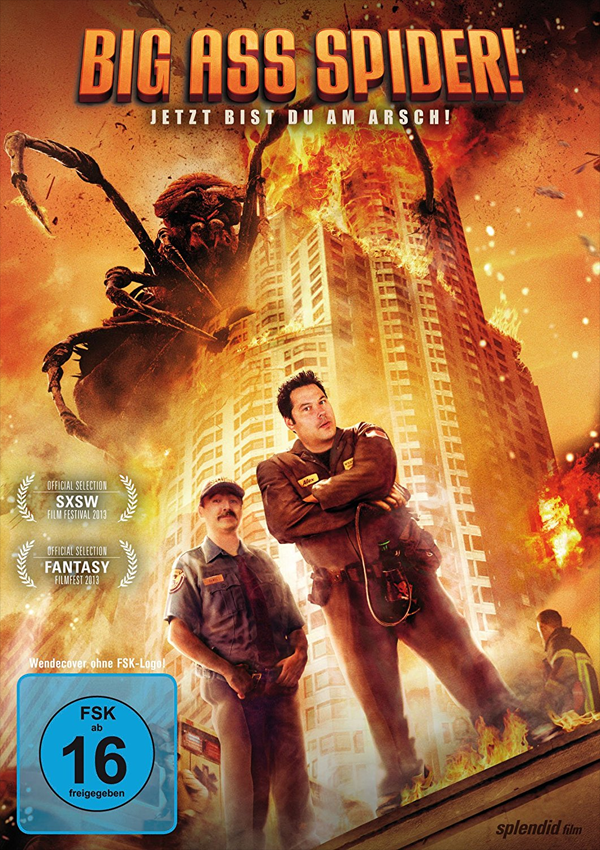 Big Ass Spider! - Blu-ray DVD Cover FSK 16