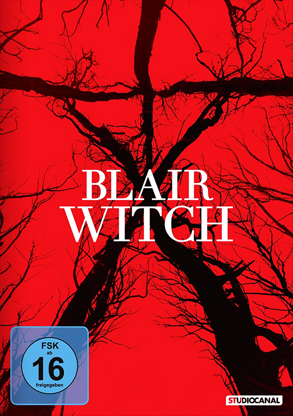 Blair Witch - DVD Blu-ray Cover FSK 16
