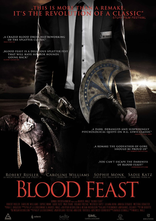 Blood Feast Remake - Poster