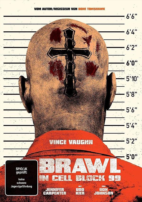 Brawl in Cell Block 99 - DVD Blu-ray Cover FSK 18