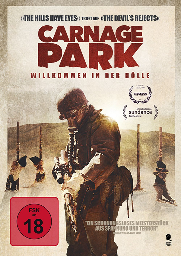 Carnage Park - DVD Blu-ray Cover FSK 18