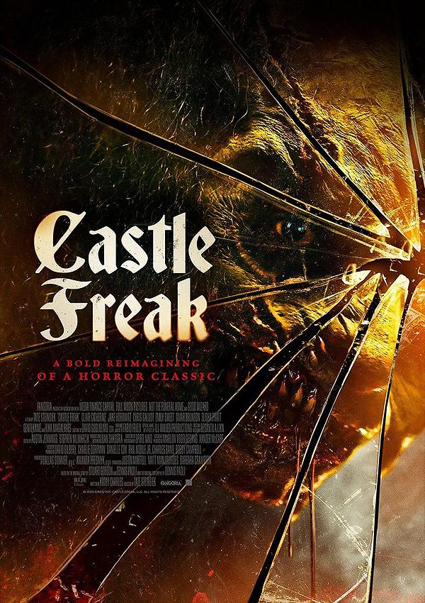 Castle Freak (Remake) - Poster FSK 18