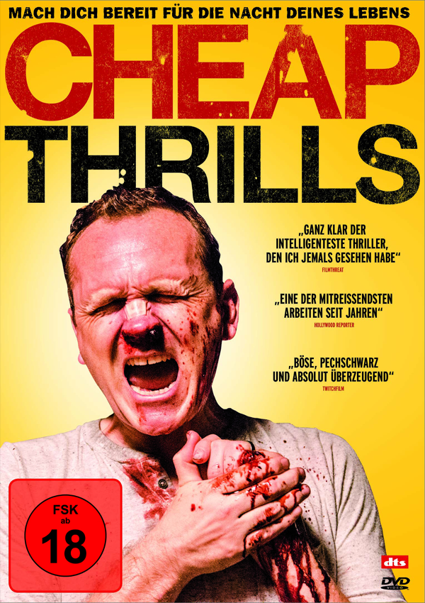 Cheap Thrills - Blu-ray DVD Cover FSK 18