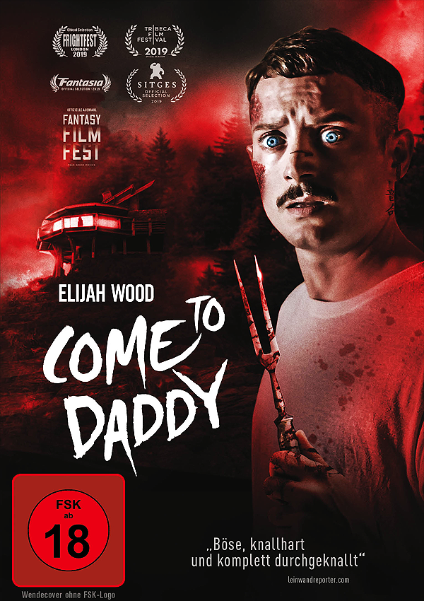 Come to Daddy - DVD Blu-ray Cover FSK 18