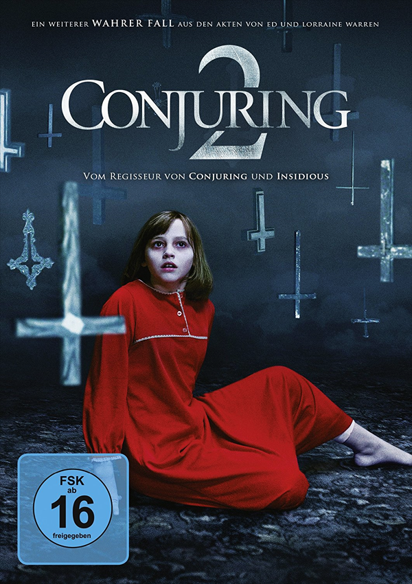 Conjuring 2 - Blu-ray DVD Cover FSK 16