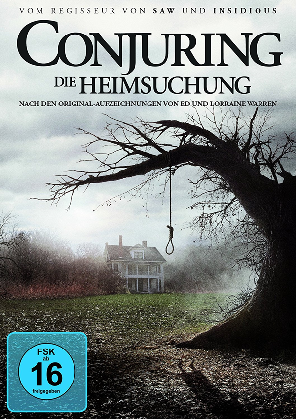 Conjuring - Blu-ray DVD Cover FSK 16