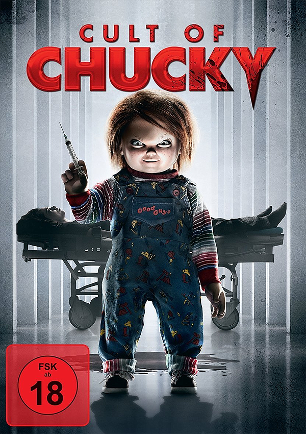 Cult of Chucky - DVD Blu-ray Cover FSK 18