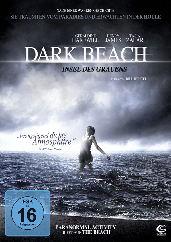 Dark Beach - Blu-ray DVD Cover FSK 16