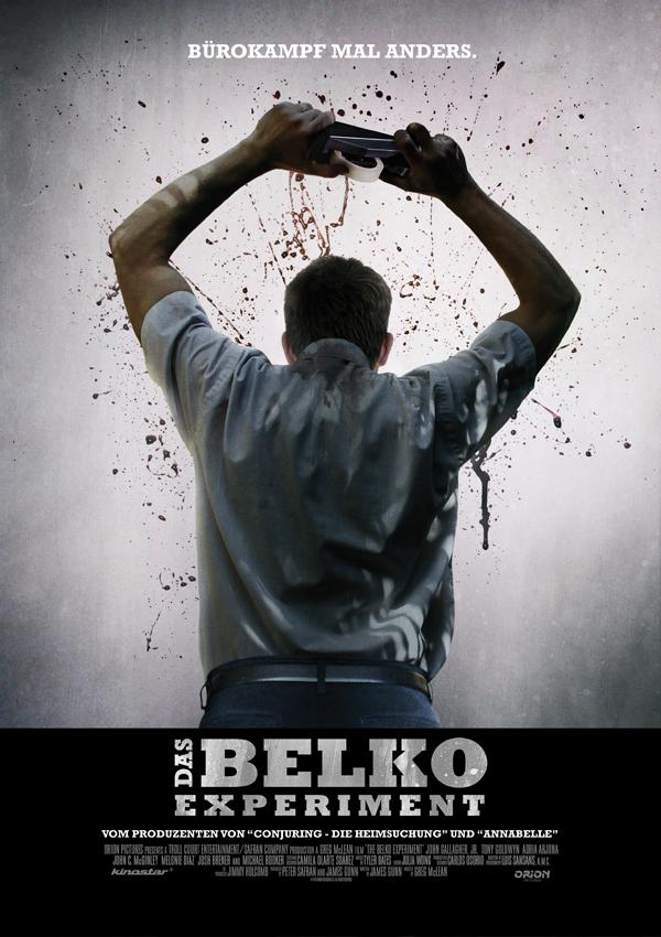 Das Belko Experiment - Poster FSK 18