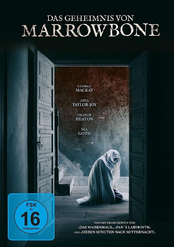Das Geheimnis von Marrowbone - DVD Blu-ray Cover FSK 16