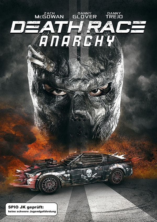 Death Race: Anarchy - Blu-ray DVD Cover Spio/JK