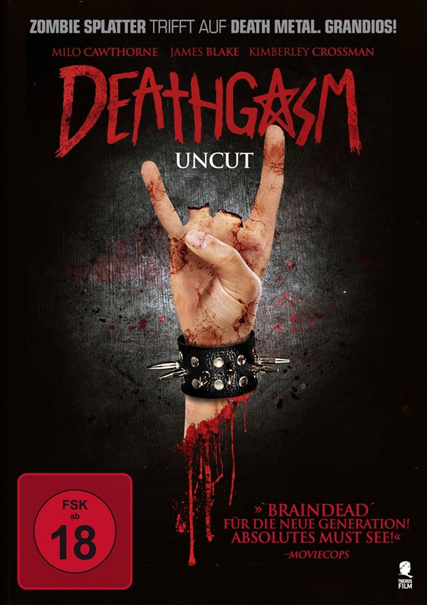 Deathgasm - DVD Blu-ray Cover FSK 18