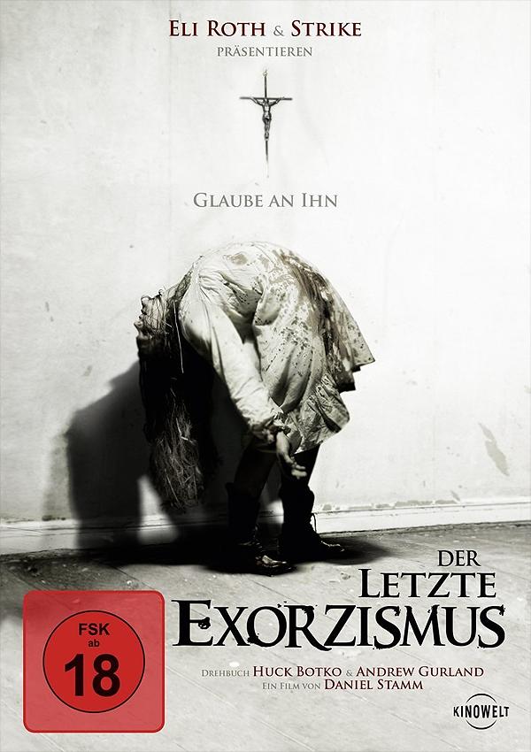 Der letzte Exorzismus - DVD Blu-ray Cover FSK 18