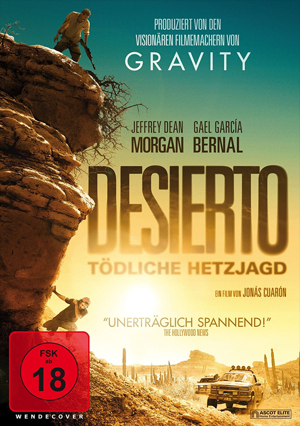 Desierto - DVD Blu-ray Cover FSK 18