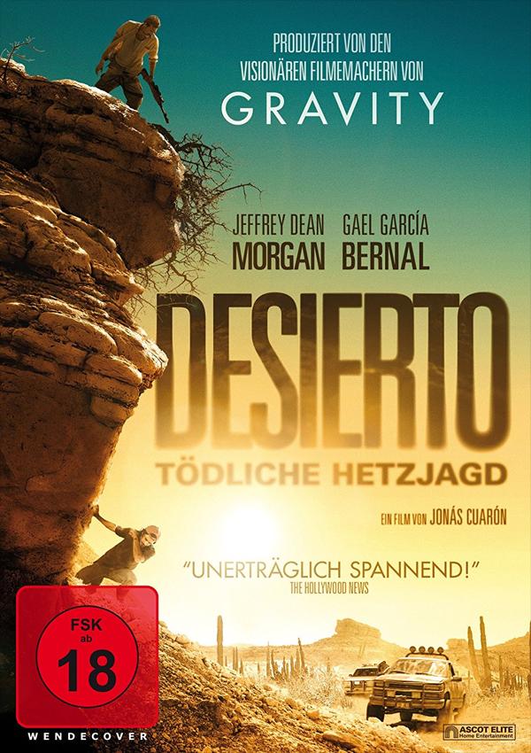 Desierto - DVD Blu-ray Cover FSK 18