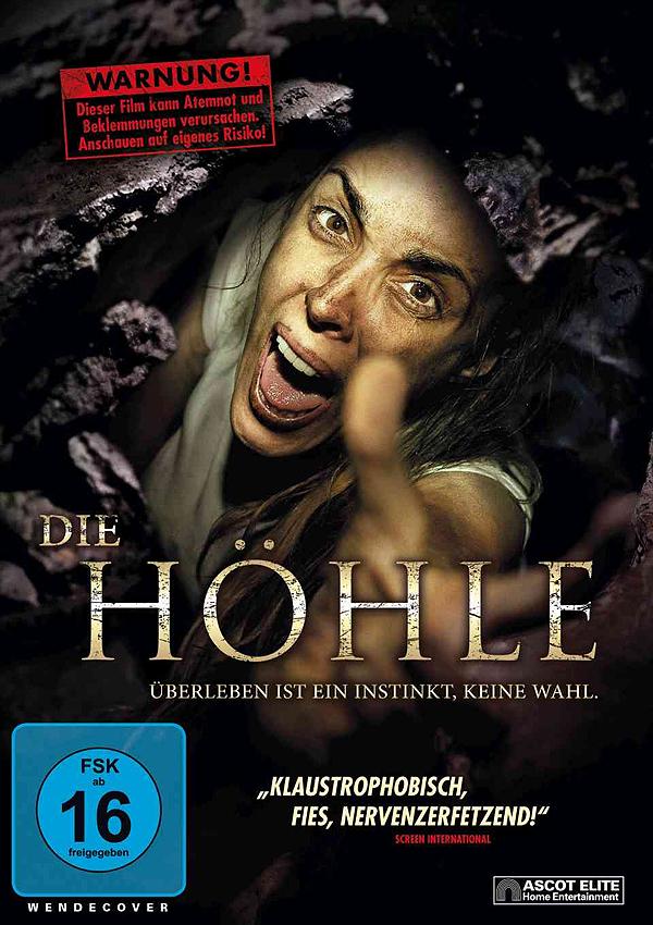 Die Höhle - Blu-ray DVD Cover FSK 16