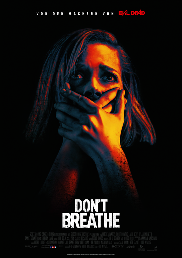 Don't Breathe - DVD Blu-ray Cover FSK 16