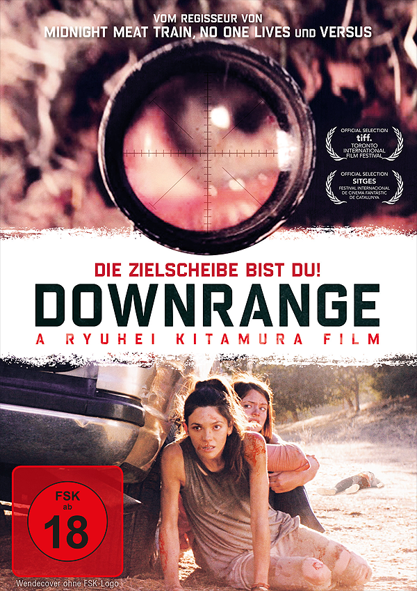 Downrange - Blu-ray DVD Cover FSK 16