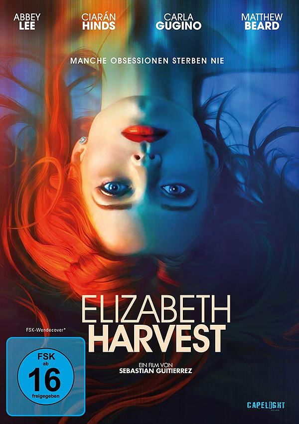 Elizabeth Harvest - Blu-ray DVD Cover FSK 16