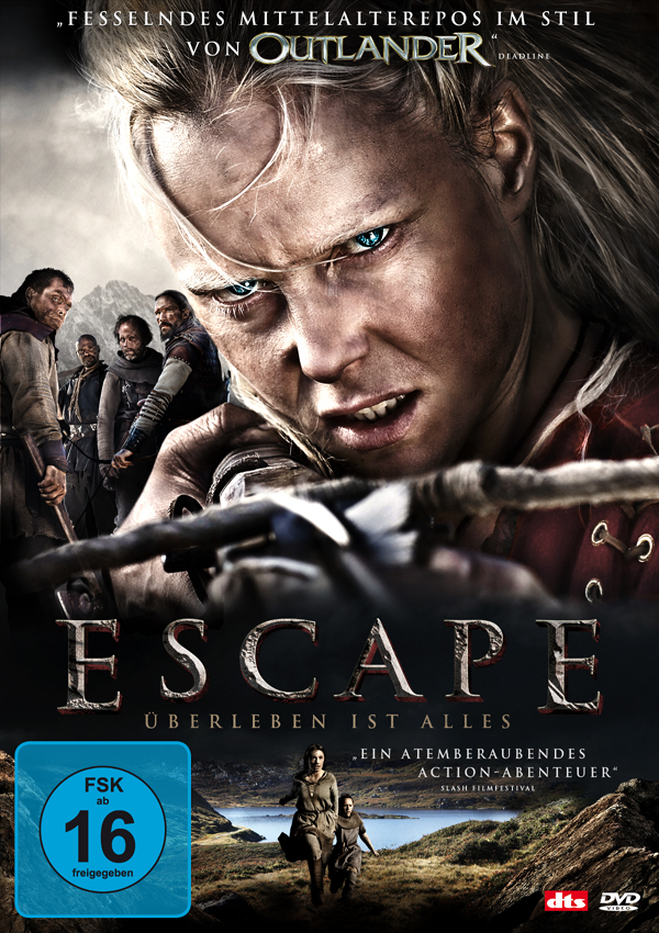 Escape - DVD Blu-ray Cover FSK 16