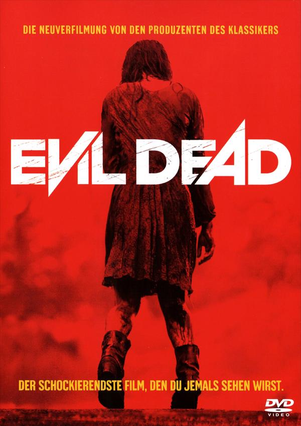 Evil Dead - DVD Blu-ray Cover Spio/JK