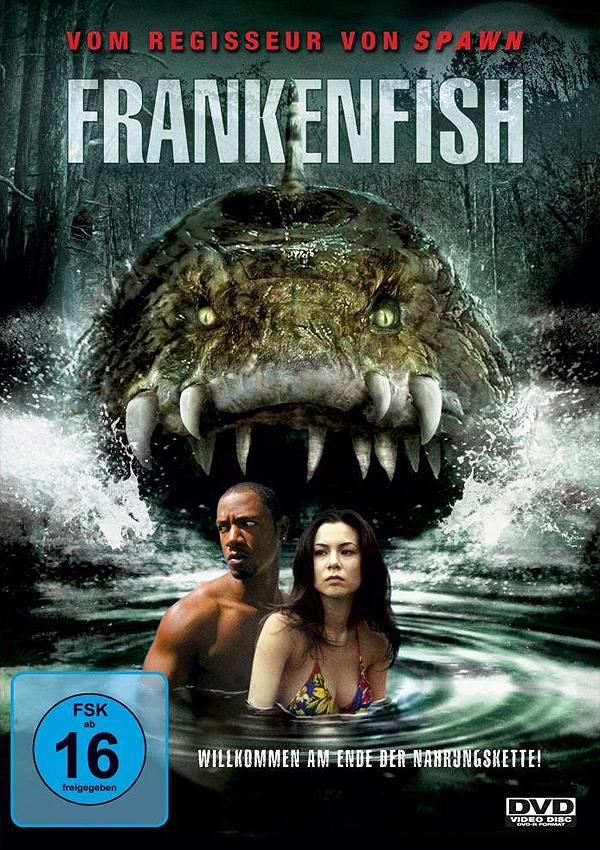 Frankenfish - DVD Cover FSK 16