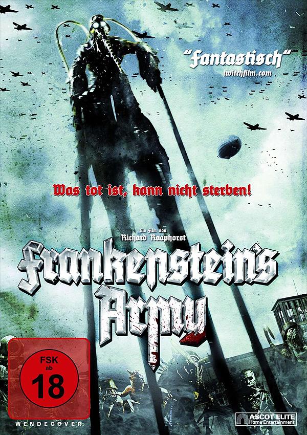 Frankenstein's Army - Blu-ray DVD Cover FSK 18