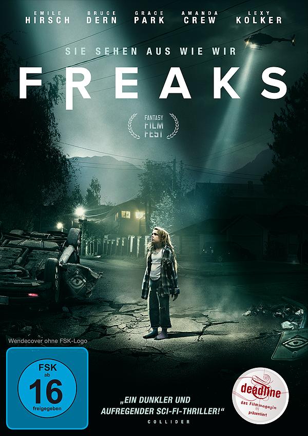 Freaks - DVD Blu-ray Cover FSK 16
