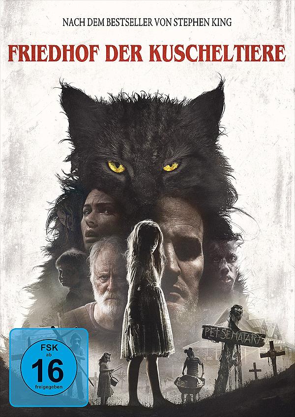 Friedhof der Kuscheltiere (2019) - Blu-ray DVD Cover FSK 16