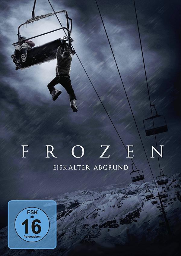 Frozen - Blu-ray DVD Cover FSK 16