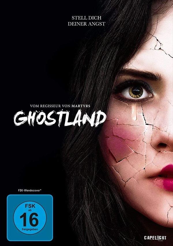 Ghostland - Blu-ray DVD Cover FSK 16