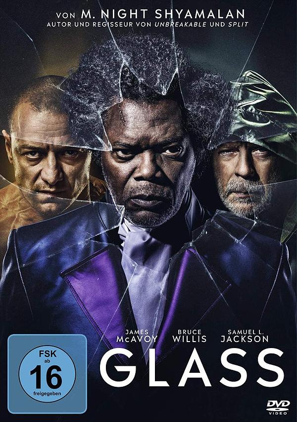 Glass - Blu-ray DVD Cover FSK 16